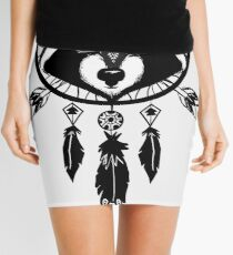 Raccoon Catcher Mini Skirt