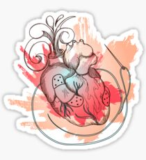 The Heart of Surgical Precision Sticker