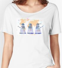 World domination! Women's Relaxed Fit T-Shirt