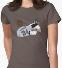 Harper punch Womens Fitted T-Shirt