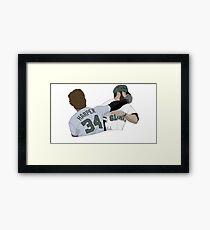 Harper punch Framed Print