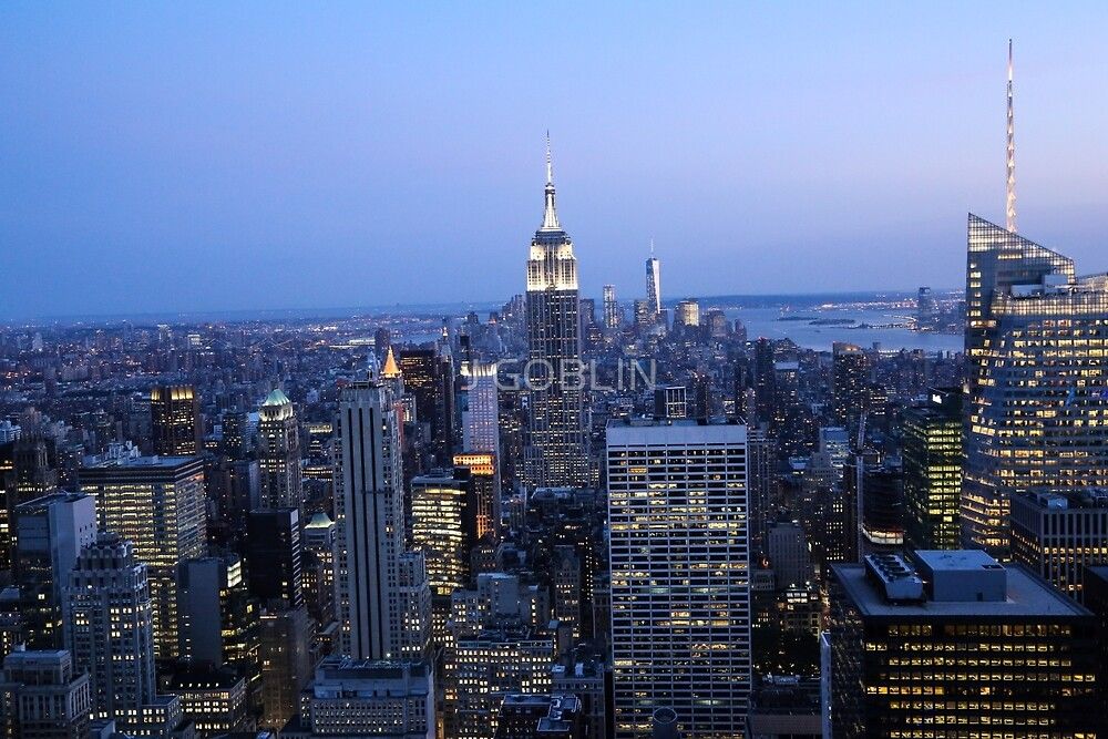 Top of the Rock by J GOBLIN