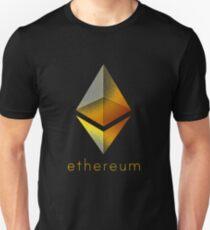 Corrupted Golden Ethereum T-Shirt