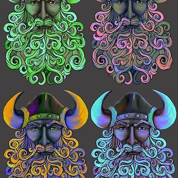 Viking Color Guard by DigitalShmo