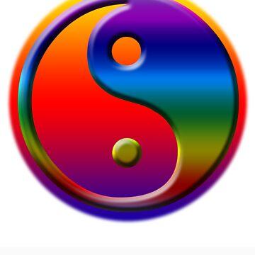 Yin and yang by jonsanders
