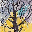 A bird with a song  on a branch of me by Maree Clarkson