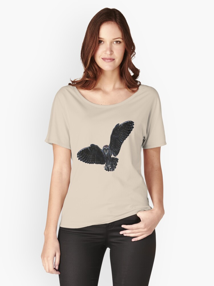 The barn owl Women's Relaxed Fit T-Shirt Front