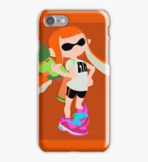 Inkling Girl (Orange) - Splatoon iPhone Case/Skin