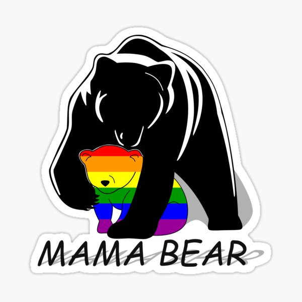 Mama Bear Stickers Redbubble