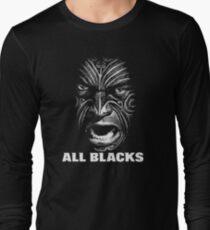 all blacks rugby Long Sleeve T-Shirt