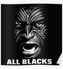 all blacks rugby Poster