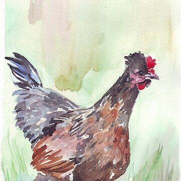 The new Mommy... 'Henny Penny' by MareeClarkson
