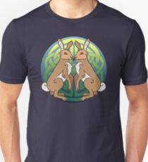 Ysgyfarnogod | Hares Unisex T-Shirt