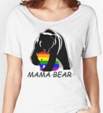 Camiseta ancha Gay Pride Mama Bear