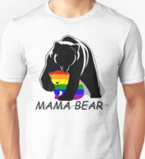 Gay Pride Mama Bear Unisex T-Shirt