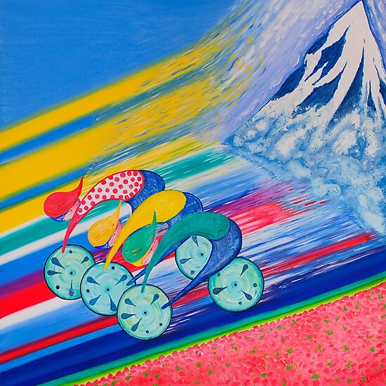King Of The Mountain Le Tour De France by Vincent Loverso
