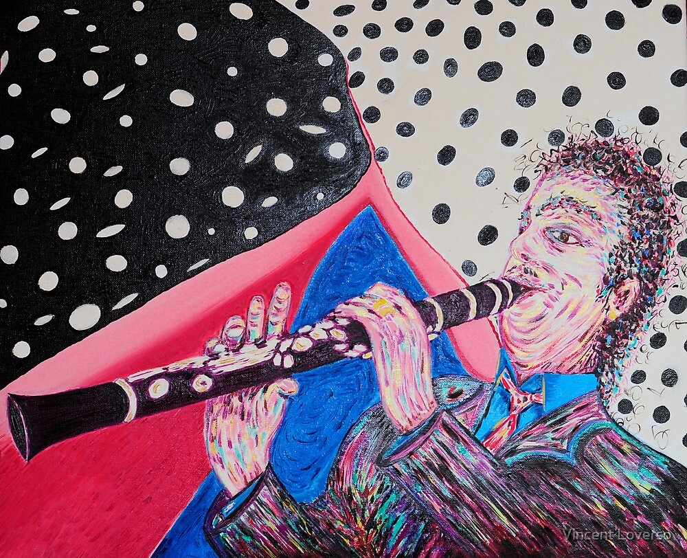 Clarinet Player  by Vincent Loverso