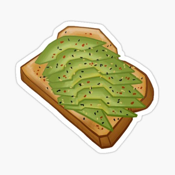 Avocado Toast Sticker