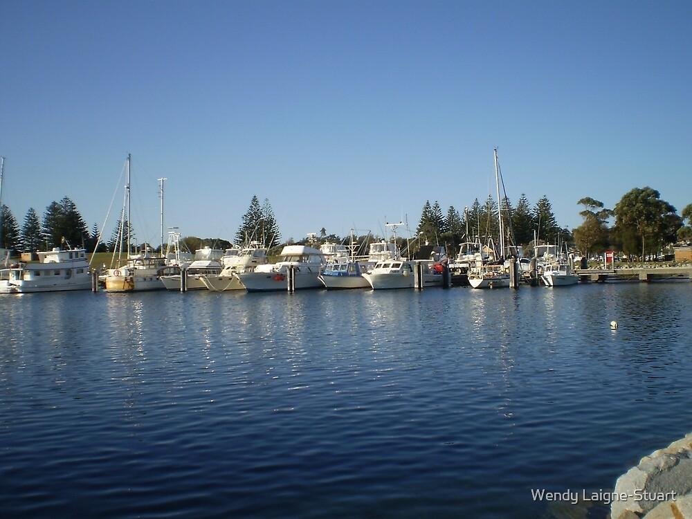 Fishing Boats II  by Wendy Laigne-Stuart