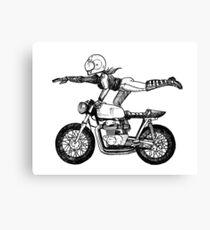 Women Who Ride - Superwoman Canvas Print