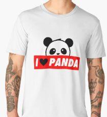 I Love Panda Men's Premium T-Shirt