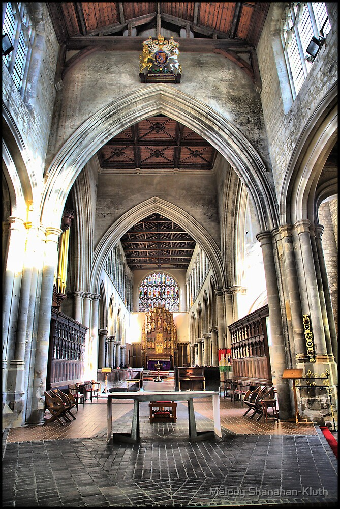 Inside St Margarets by Melody Shanahan-Kluth