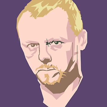 Simon Pegg by DebbieDoesDogs