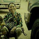 cambodian woman 3 by Amagoia  Akarregi