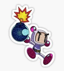 Glitter Bomberman Sticker