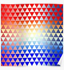 Triangles #14 Poster