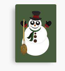 Snowman (4) Canvas Print