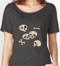 Skullery pattern Women's Relaxed Fit T-Shirt