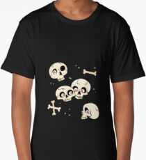 Skullery pattern Long T-Shirt