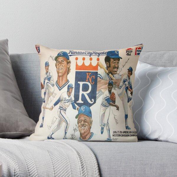 Kc Royals Throw Pillow