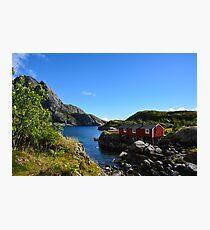 Landschaft Nusfjord Photographic Print