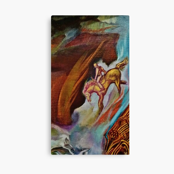 THE MAN FROM SNOWY RIVER Canvas Print