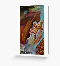 THE MAN FROM SNOWY RIVER Greeting Card