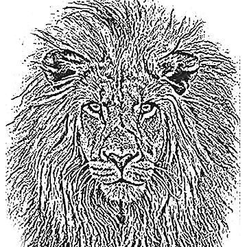 Lion T-Shirt Design  by Dylkel
