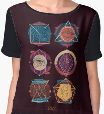 ETC - Expressive Therapies Continuum Women's Chiffon Top