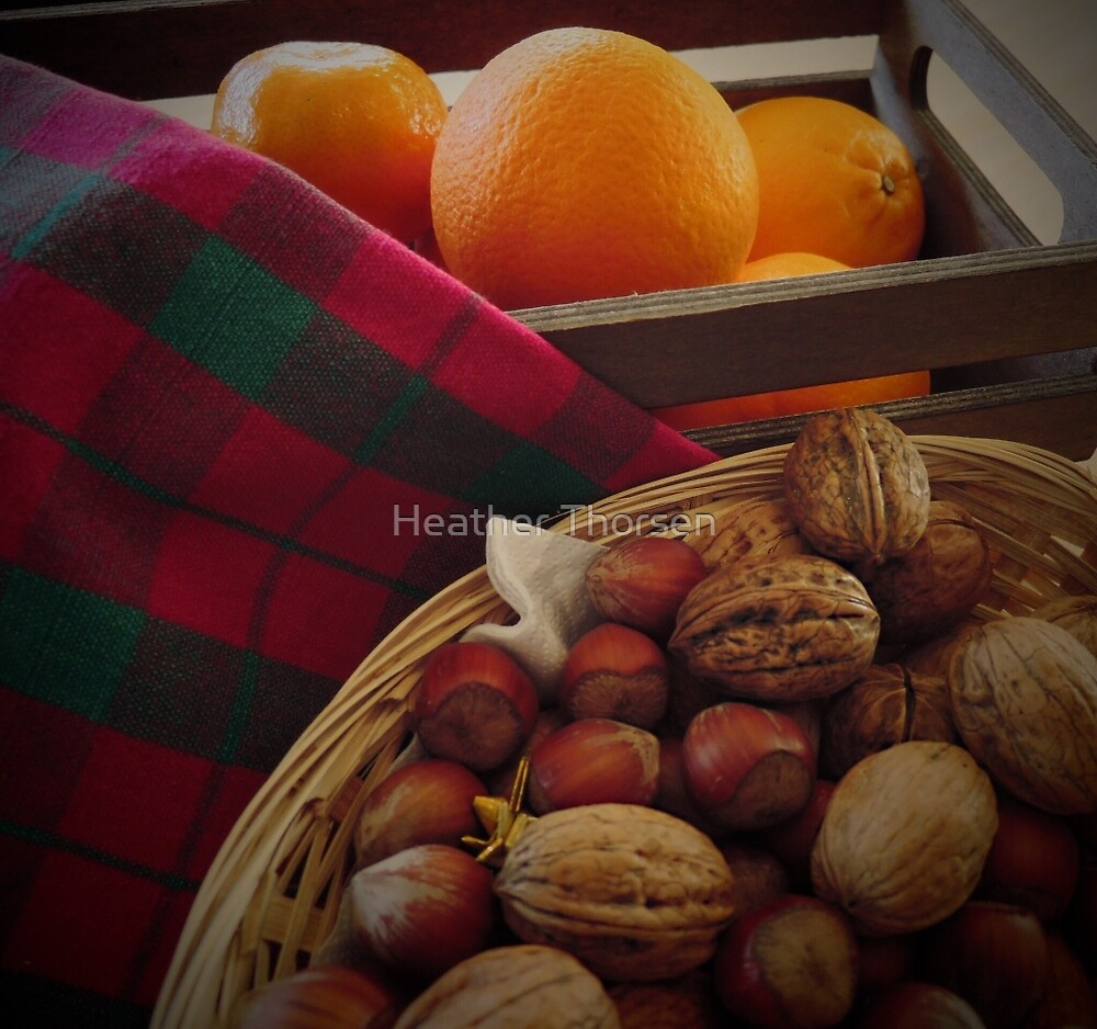 Fruit 'n nuts by Heather Thorsen