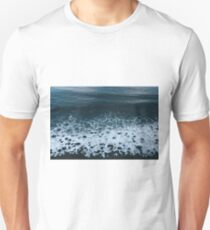 Waves in Iceland - Landscape Photography Unisex T-Shirt