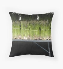 Asparagus. Throw Pillow