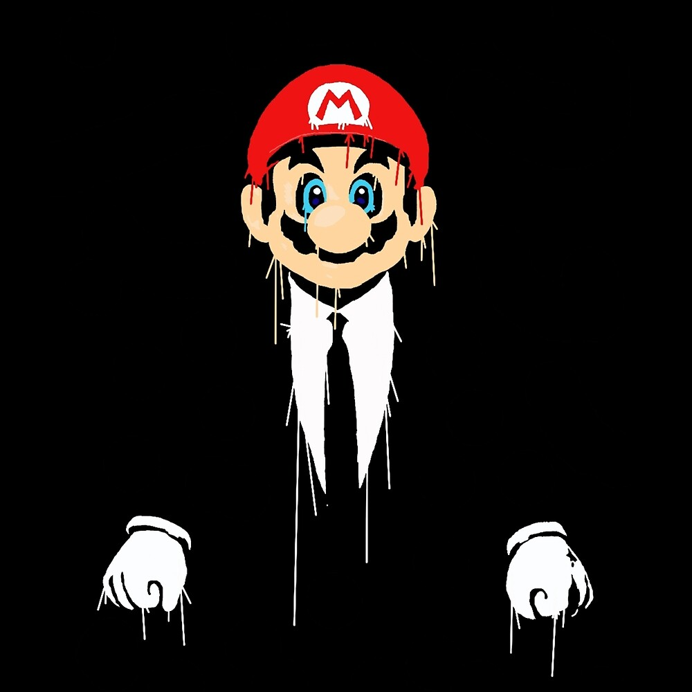 Mario cool by GamersTshirts