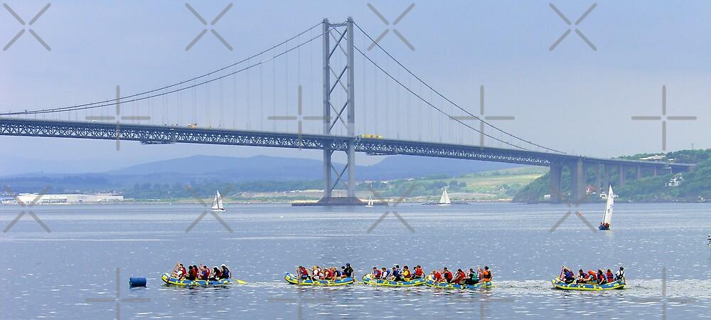 Raft Race III by Tom Gomez