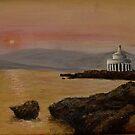 Kefalonia Sunset at Fanari by Yianni Digaletos