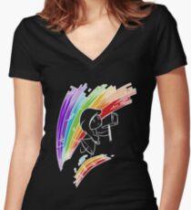 Thor Couples Design (Girl) Women's Fitted V-Neck T-Shirt