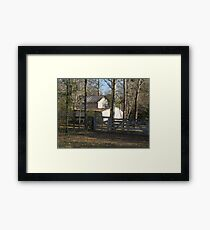 In the Quiet Framed Print