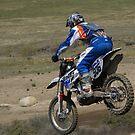 Motocross Action - Cahuilla CA Vet X Racing Series Rider #506 by leih2008