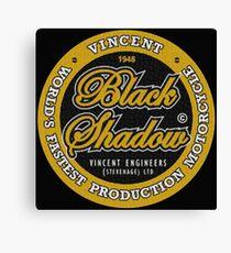 Vincent Black Shadow Vintage Canvas Print