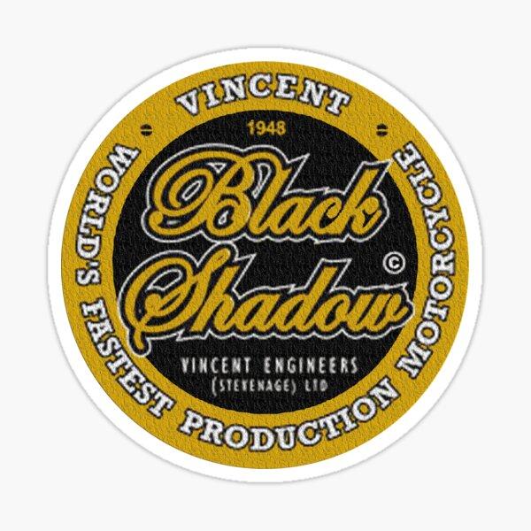 Vincent Black Shadow Vintage Sticker